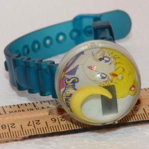 vintage Sailor Moon jelly bubble watch 1990's